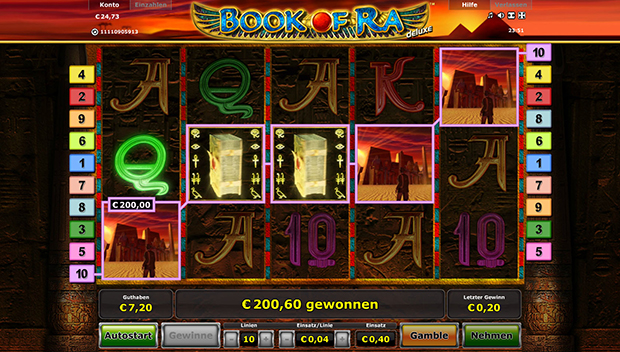 book of ra online casino 2019