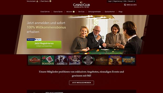 paypal casino casinoclub uebersicht
