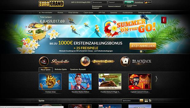 paypal casino eurogrand uebersicht