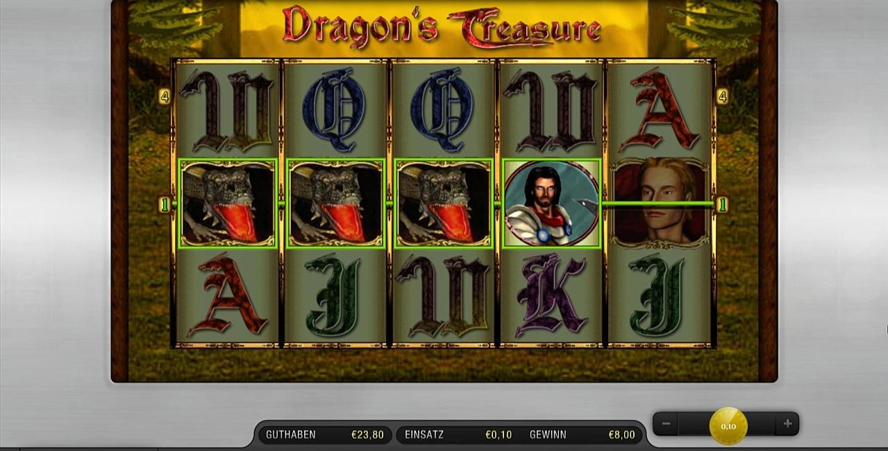 dragons treasure im paypal casino freispiele