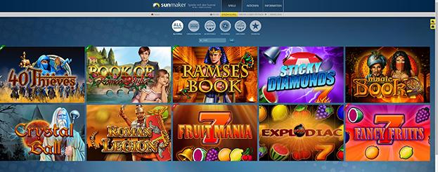 • online casino startbonus