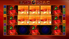 bally wulff slot explodiac feature