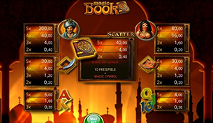bally wulff slot magic book auszahlungstabelle