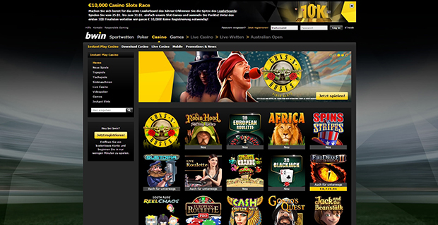 paypal online casino liste