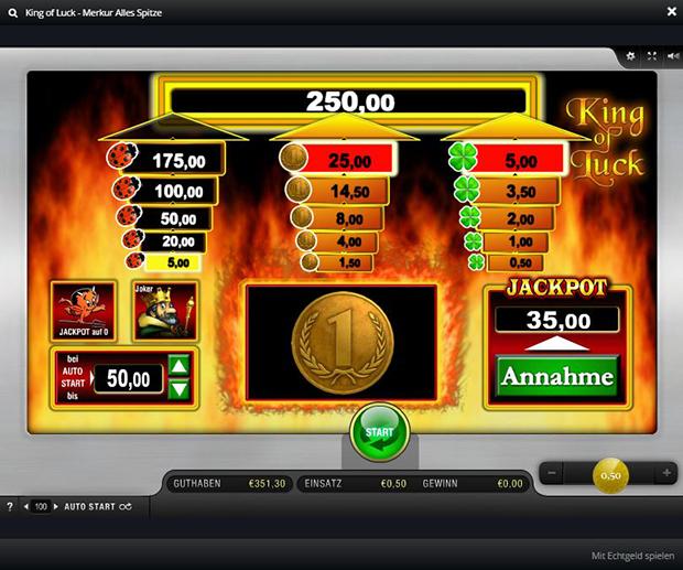 alles spitze merkur paypal casino