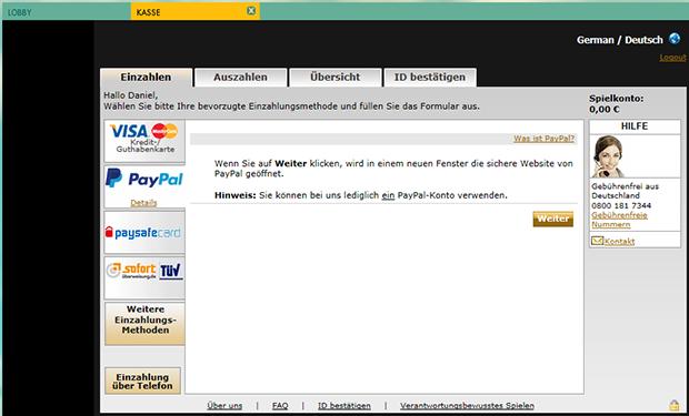 paypal casino 777 deposit 3
