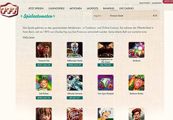 paypal casino 777 games