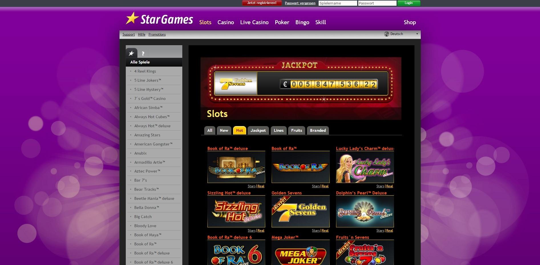 paypal casino stargames spielauswahl