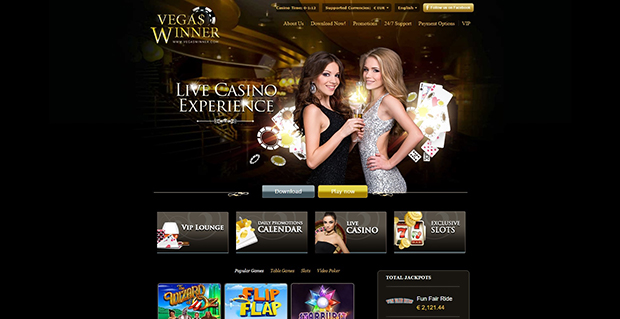 paypal casino vegas winner overview