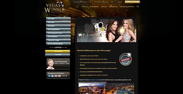 paypal casino vegas winner vip angebot