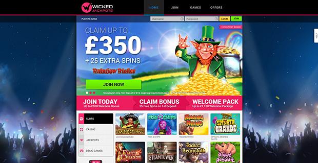 paypal casino wicked jackpots übersicht