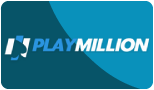 playmillion paypal casino logo