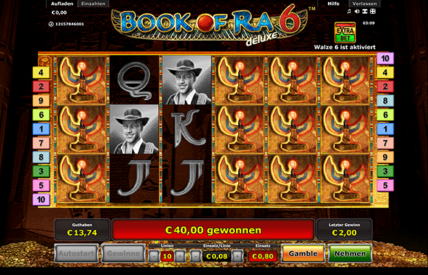 online novoline casino slot book of ra