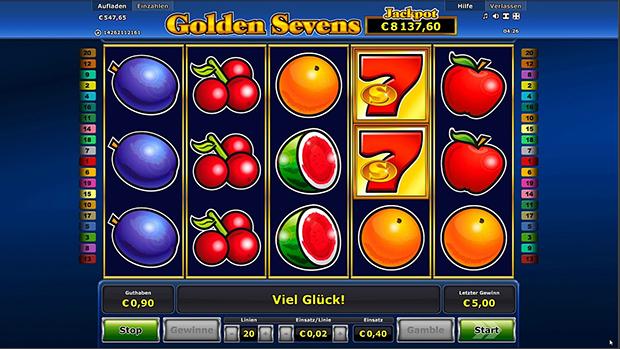 golden sevens im paypal casino übersicht