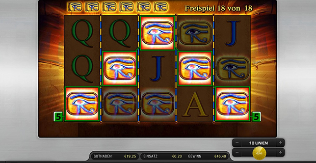 online casinos eye of horus