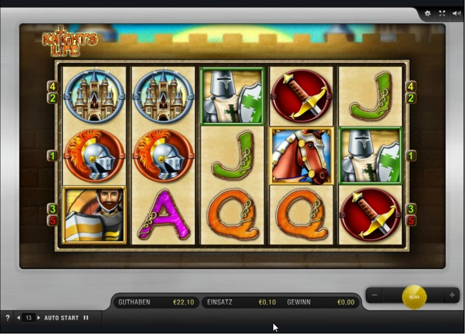 Knight's Life slot - Casumo Casino