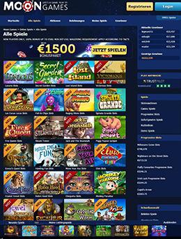 moon games paypal casino spielübersicht