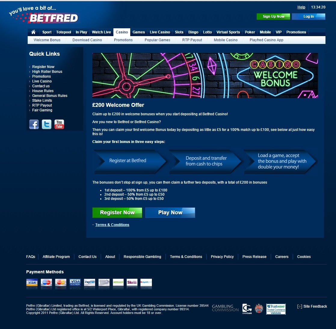 paypal casino betfred bonusangebot