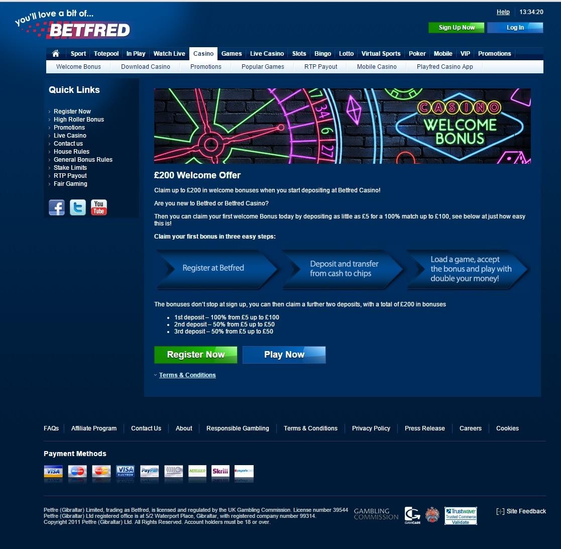 paypal casino betfred bonusangebot