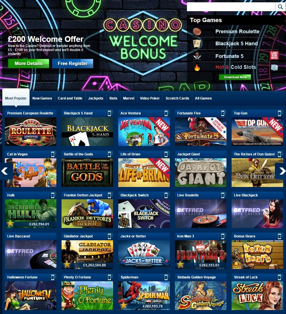 paypal casino betfred spielauswahl
