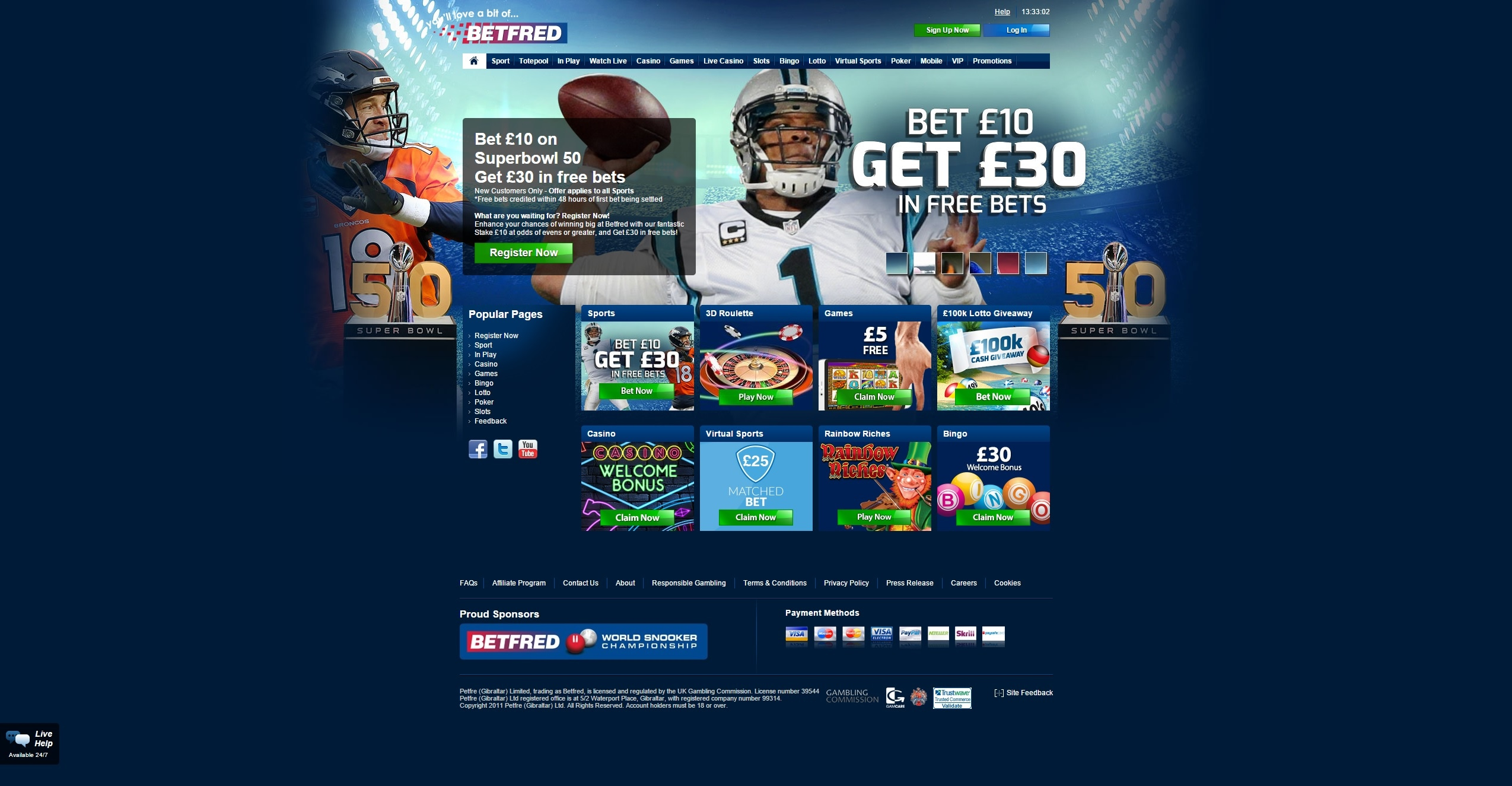online casinos paypal uk