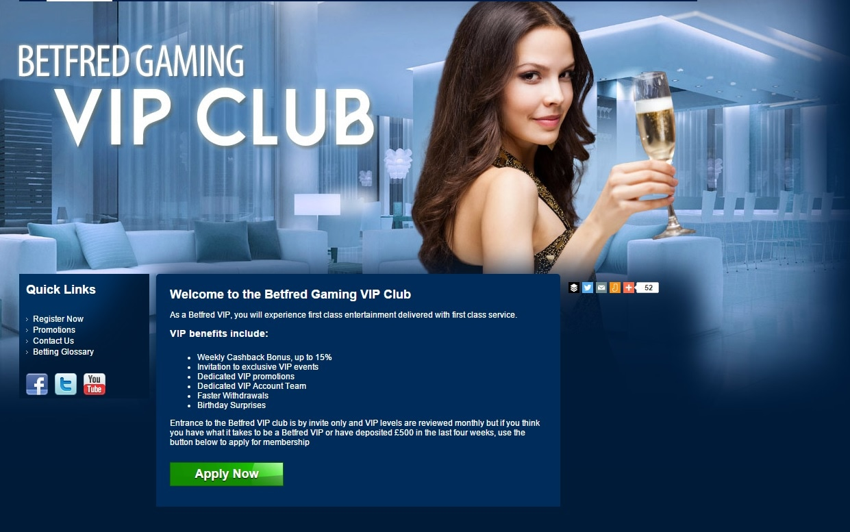 paypal casino betfred vip club