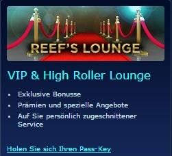 reefclub paypal casino vip