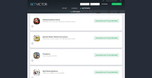 betvictor paypal casino aktionen