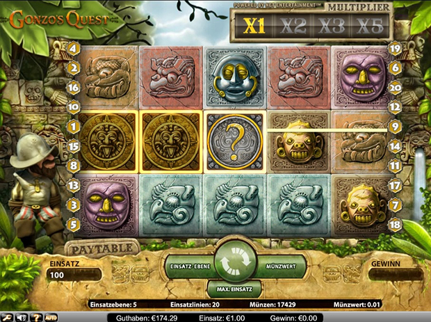 netent paypal casino gonzos quest scatter