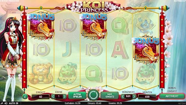 netent paypal casino koi princess bonus