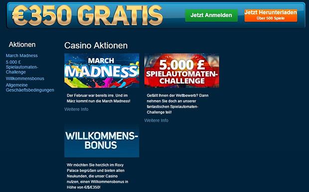 roxy palace paypal online casino aktionen