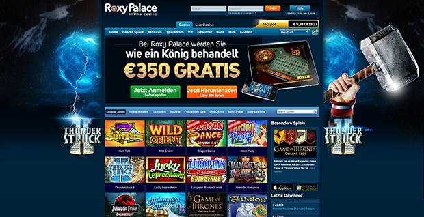 roxypalace paypal online casino uebersicht