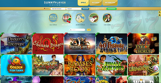 sunnyplayer paypal casino spielauswahl