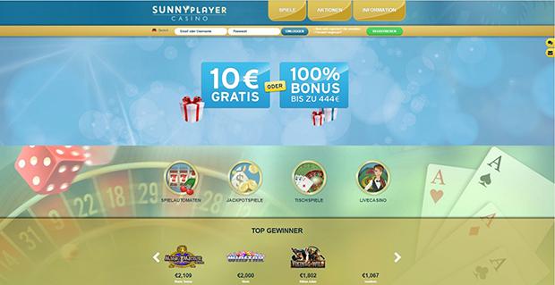 sunnyplayer paypal casino übersicht