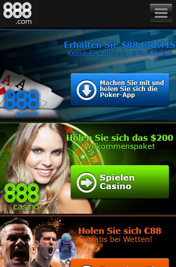 Casino 888 Paypal