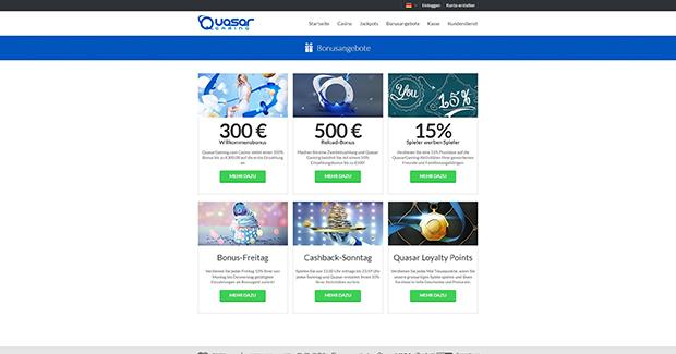quasar paypal casino bonusangebot