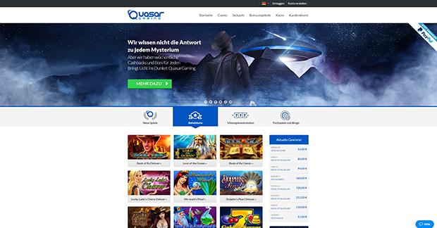 quasar paypal casino uebersicht
