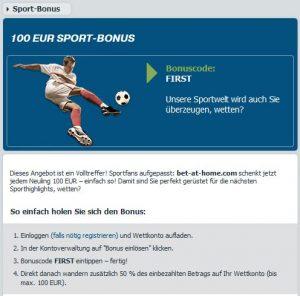 bet-at-home sportwetten paypal casino Bonus