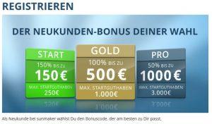 Sunmaker sportwetten paypal casino Bonus