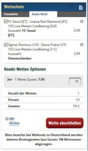Sunmaker sportwetten paypal casino Wettschein