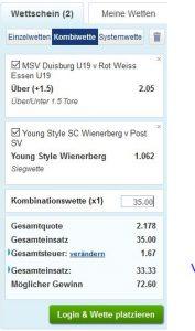 Sportingbet sportwetten paypal casino Wettschein