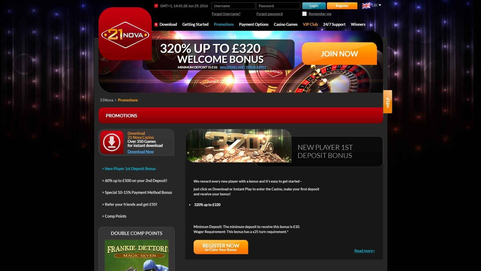 официальный сайт 21 нова казино отзывы
