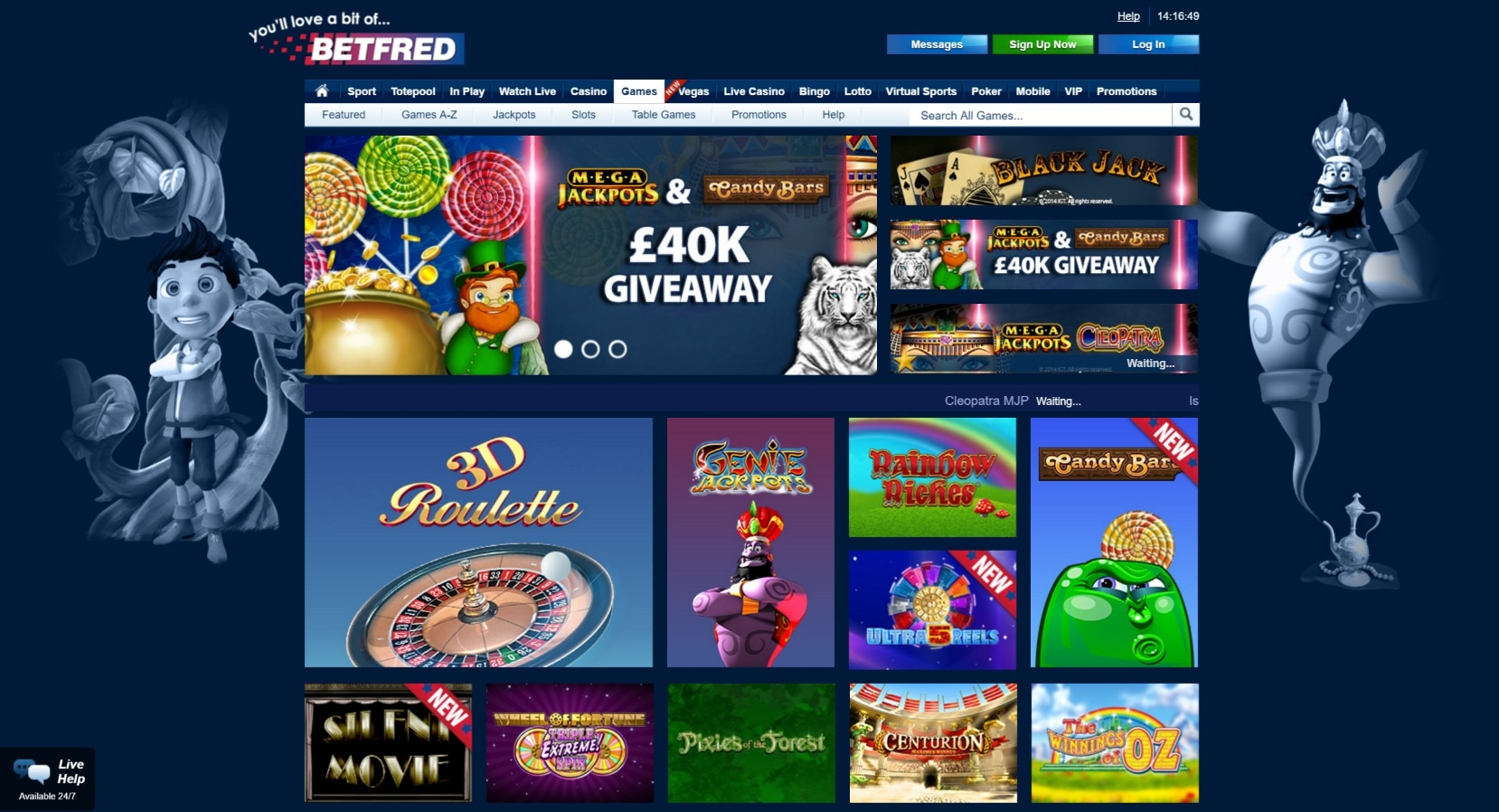 paypal casino site betfred games
