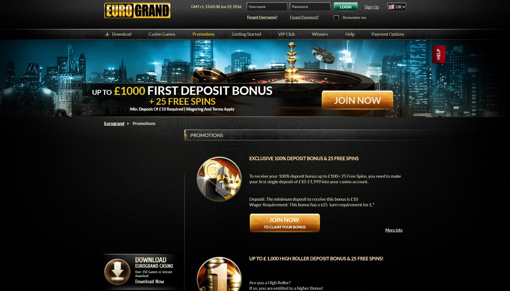 Eurogrand casino зеркало bet on gambling