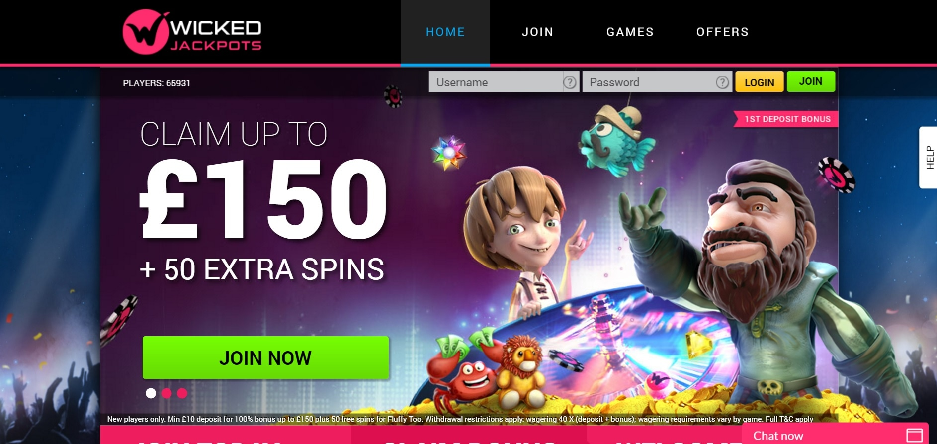 paypal casino site wicked jackpots overview