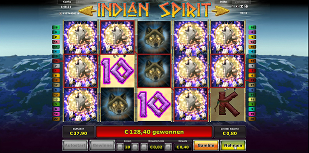 online live casino indian spirit