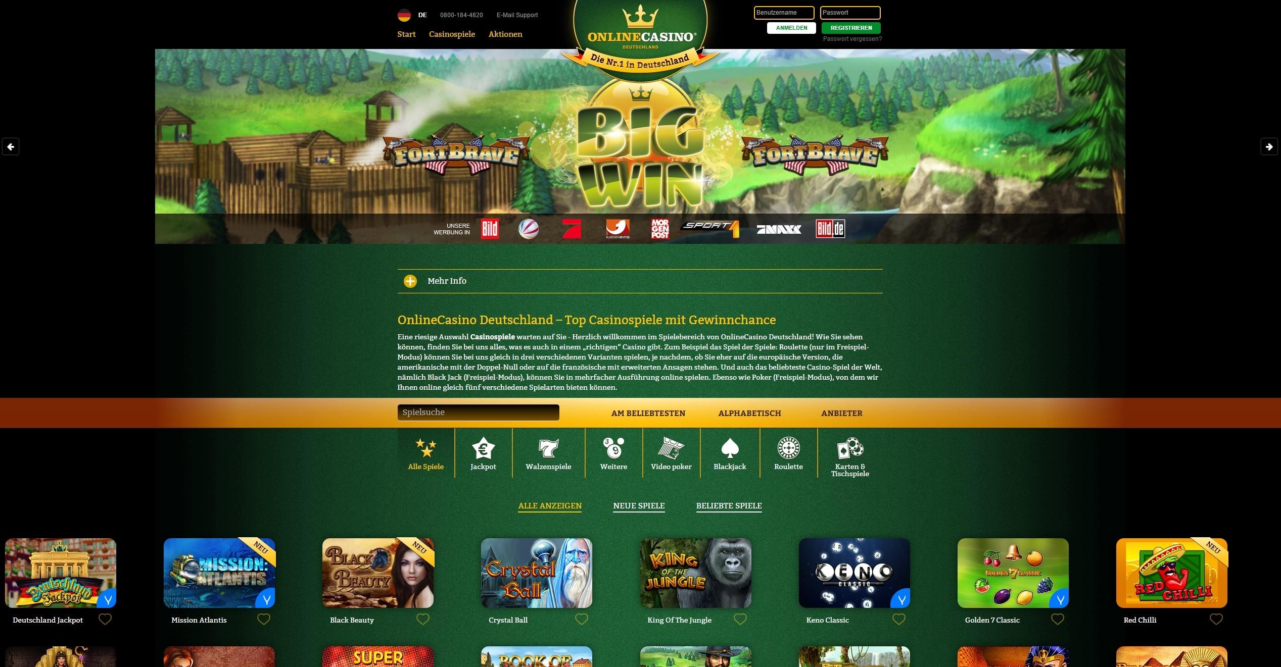 online casino.de