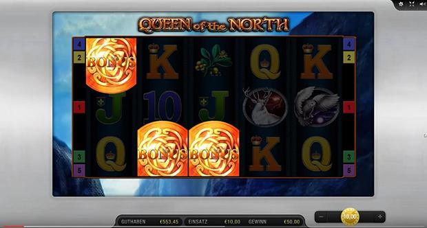 queen of the north bally wulff online freispiele aktiviert