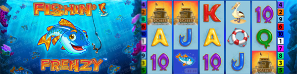 fishin frenzy paypal casino teaser