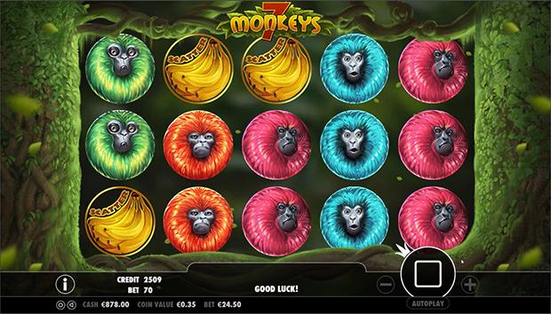 7 monkeys freispiele